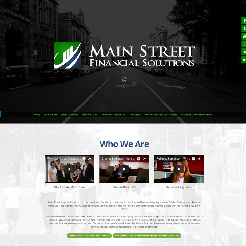 main street financial solutions website