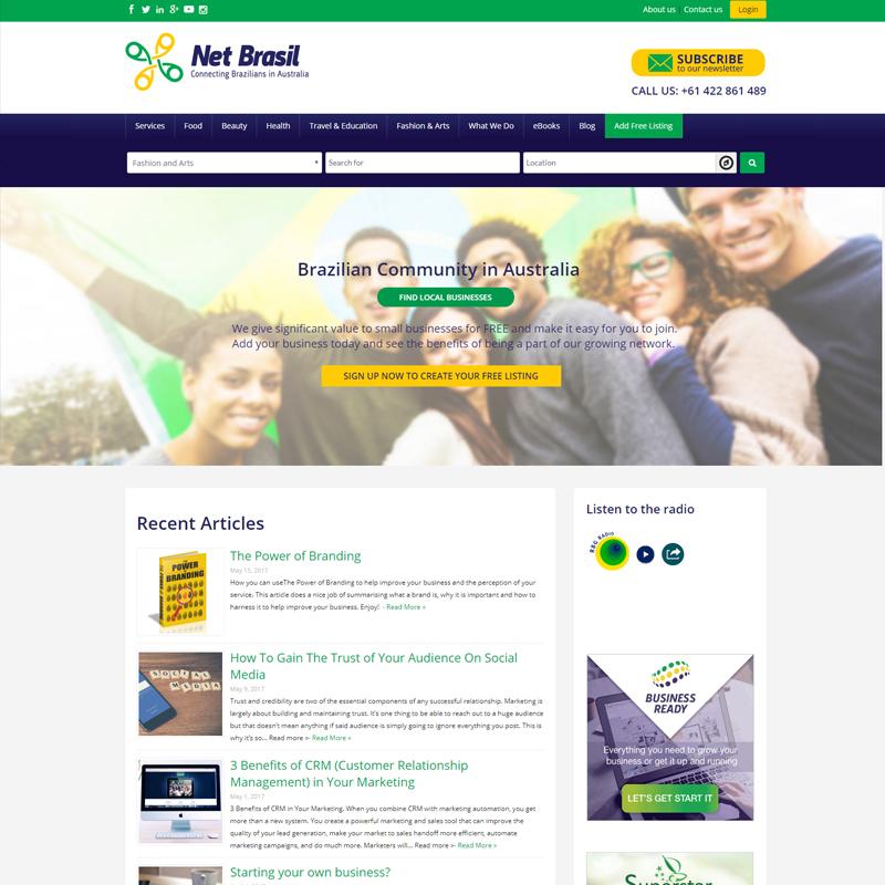 net brasil website