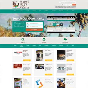 terrey hills website portfolio