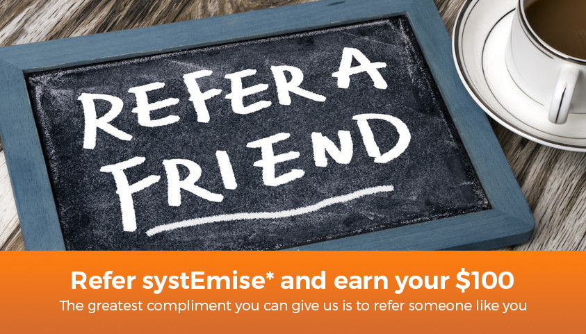 systemise refer a friend campaign