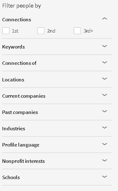 advanced search tool linkedin
